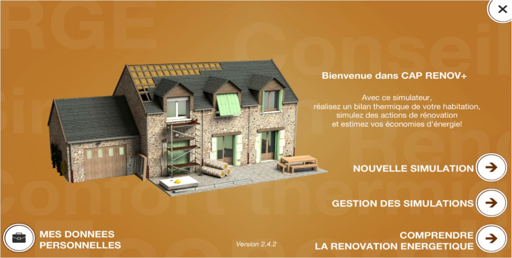 Simulation renovation maison simulation cout maison for Simulation prix construction maison